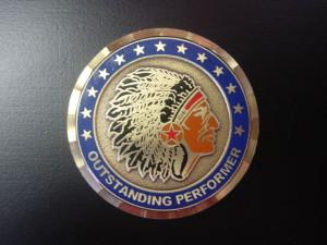CMSgt challenge coin_121st ARW coin