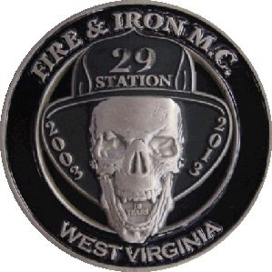 Fire and Iron coin