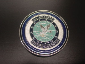 Safeside coin, challenge coin