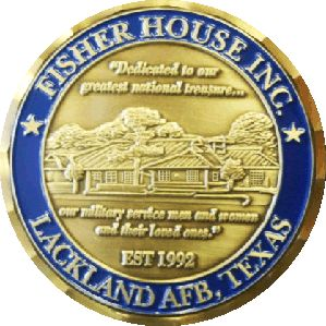 Fisher House challenge coins