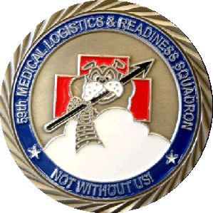 USAF bulldog challenge coin