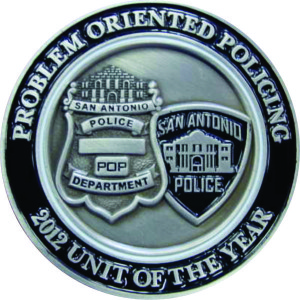 Police Department challenge coins