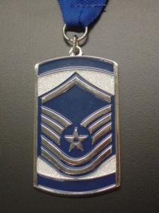 SNCO medal, MSgt medal, induction medal