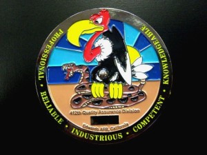 USAF_challenge coin_gyro coin_spinning coin_quality assurance
