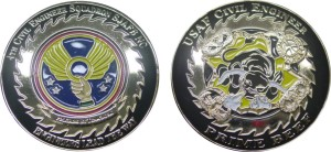 USAF challenge coin_Civil Engineering