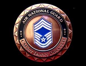 AFRC_Doucette_challenge coin_back
