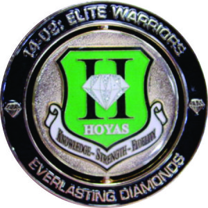 usaf_squadron_hoyas_officer training school_diamond_challenge coin_1