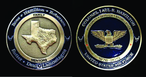 USAF_challenge coin_Commander coin_Col Hamilton