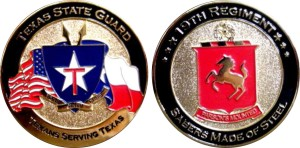 Texas State Guard_Commander coin
