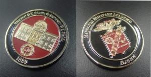Missouri Military Academy-coin