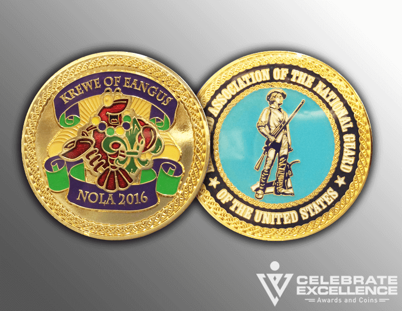 challenge coin_iron_epoxy doming