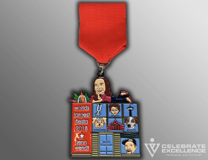 Personal Macy's Fiesta Medal