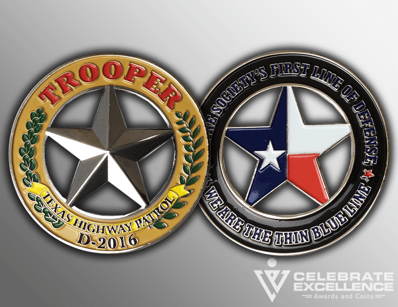 custom challenge coin_soft enamel paint