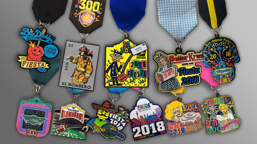 San Antonio Fiesta Medals Celebrate Excellence Is Your