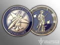 Air National Guard_Challenge Coin_159th Fighter Wing_Lousiana ANG_Commander Coin