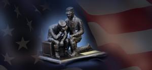 First Sergeant statue