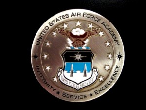Air Force Academy coin