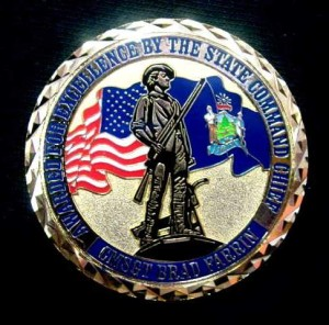 Air National Guard Challenge coins