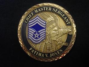 Chiefs challenge coin