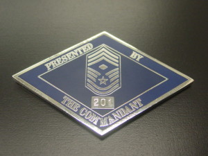 First Sergeant Academy_Commandant coins