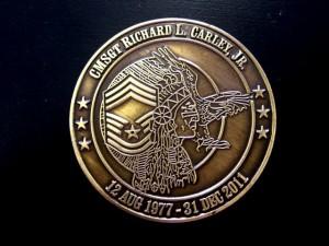 2-D Chiefs coin