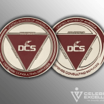 Celebrate Excellence DCS Challenge Coins | San Antonio Texas