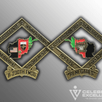 Celebrate Excellence Army Challenge Coins | San Antonio Texas
