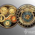 Celebrate Excellence Memorial Detachment Challenge Coins | San Antonio Texas