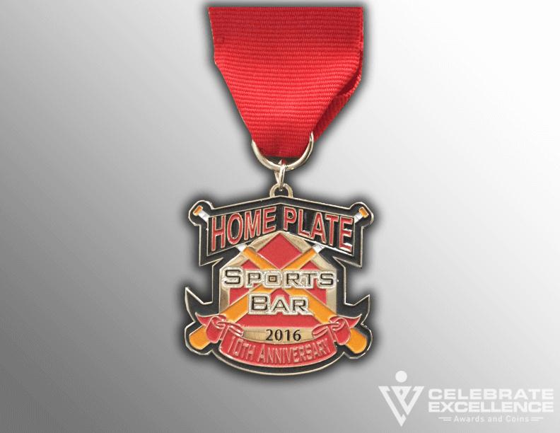 San Antonio Fiesta medal_Home Plate