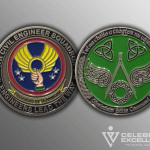Celebrate Excellence 4th CES Challenge Coins | San Antonio Texas
