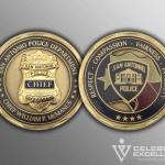 Celebrate Excellence McManus Challenge Coins | San Antonio Texas