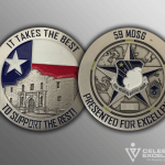 Celebrate Excellence 59 MDSG Coins | San Antonio Texas
