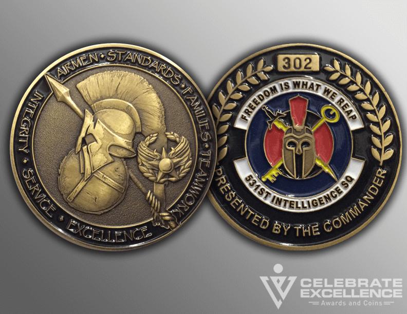 Celebrate Excellence 531st coin | San Antonio Texas