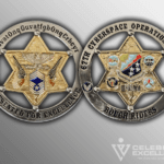 front and back 67th Cyberspace Operations group coin